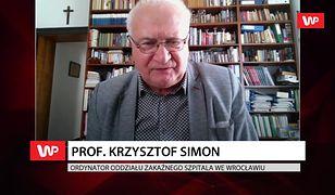 To nie koniec epidemii. Prof. Krzysztof Simon mówi o sytuacji pacjentów