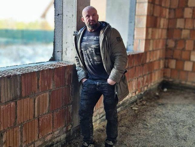 Tomasz Oświeciński buduje dom marzeń