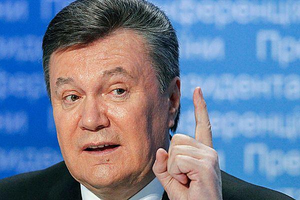 Media: nie ma formalnych dokumentów pozwalających na ściganie Wiktora Janukowycza
