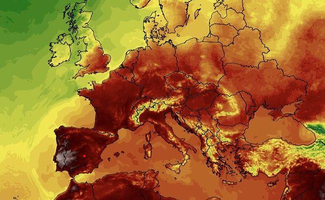 Pogoda w Europie będzie ekstremalnie wysoka