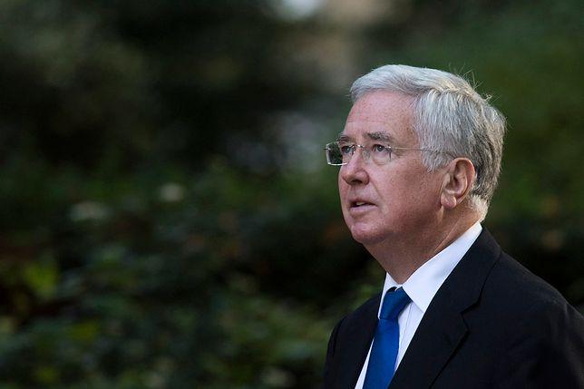 Brytyjski minister obrony Michael Fallon podał się do dymisji