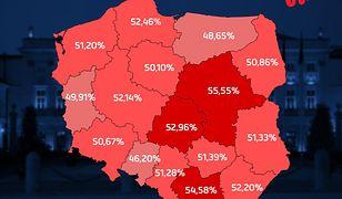 Wybory prezydenckie 2020. Największa frekwencję do 17.00 zanotowano na Mazowszu