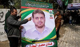 Portret zamordowanego naukowca w jego rodzinnej Gazie