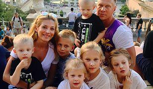 Bizneswoman i aktywna mama. Izabella ma 6 dzieci.