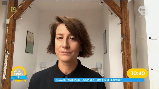 Maja Ostaszewska zabrała głos w sprawie wyroku Trybunału Konsytucyjnego.
