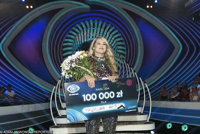 """Magda Wójcik odebrała w sierpniu nagrodę za wygraną w programie """"Big Brother"""""""