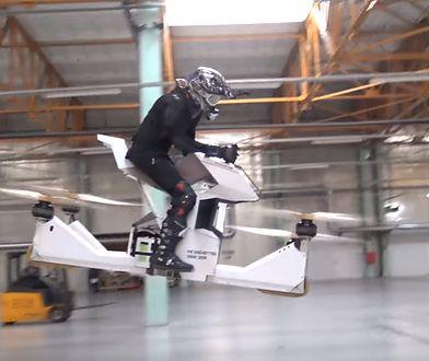 Pierwszy na świecie latający motocykl jest oficjalnie na sprzedaż