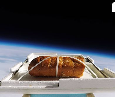 """Autorzy chcieli poczuć """"smak kosmosu"""""""