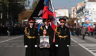 Pogrzeb Arsena Pawłowa, Donieck