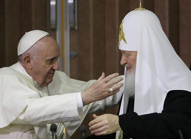 Spotkanie papieża Franciszka i patriarchy Cyryla.