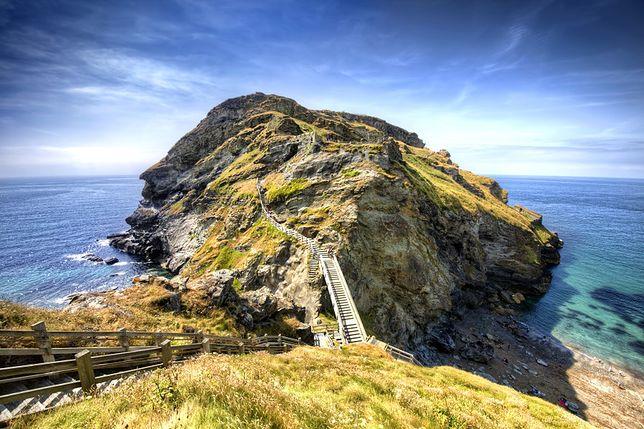 Tintagel - miejsce narodzin króla Artura
