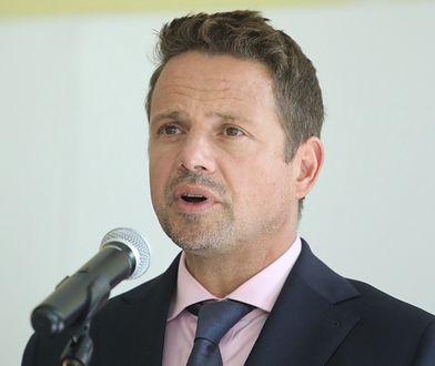 Warszawa. Trzaskowski poinformował o złożeniu zawiadomienia do prokuratury