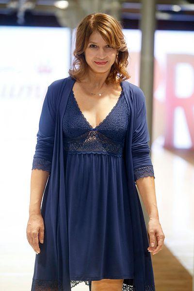 Aktorka pojawiła się na pokazie w roli modelki