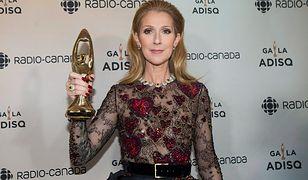 Celine Dion odebrała nagrodę w imieniu zmarłego męża