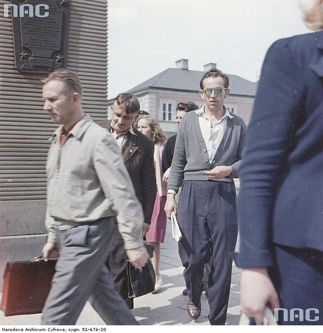 Warszawa lat 50., 60. i 70. na zdjęciach Zbyszka Siemaszki