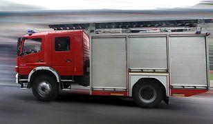 Dwie osoby zginęły w pożarze mieszkania w Wielbarku