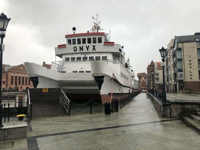Pomorskie: alarm pogodowy w Gdańsku