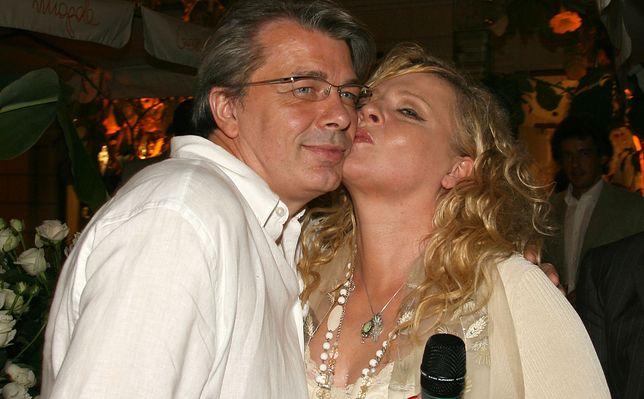 Magda Gessler rzadko widuje się z ukochanym Waldemarem Kozerawskim