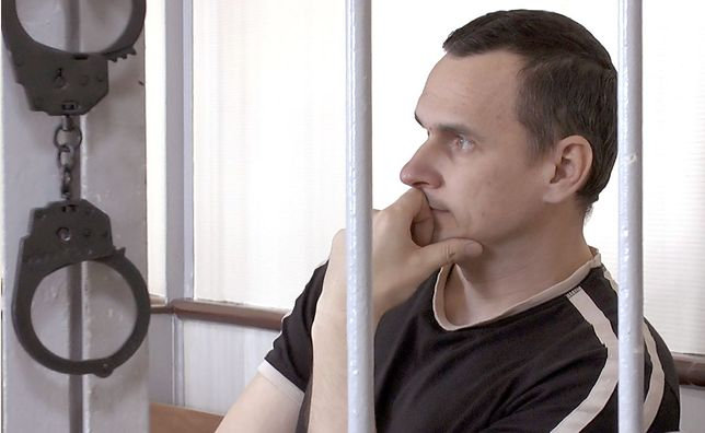 """Kadr z filmu """"Proces. Federacja Rosyjska vs. Oleg Sencow"""""""