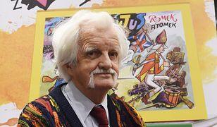 """Papcio Chmiel obchodzi urodziny. Twórca komiksów z serii """"Tytus, Romek i A'Tomek"""" kończy 96 lat"""