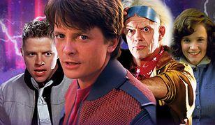 """Gwiazdy """"Powrotu do przyszłości"""" znowu razem. """"Czterech starych przyjaciół wróciło z przyszłości"""""""