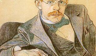 Józef Mehoffer na portrecie autorstwa Stanisława Wyspiańskiego