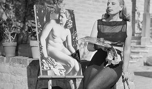 Tamara Łempicka (1898-1980) przy pracy