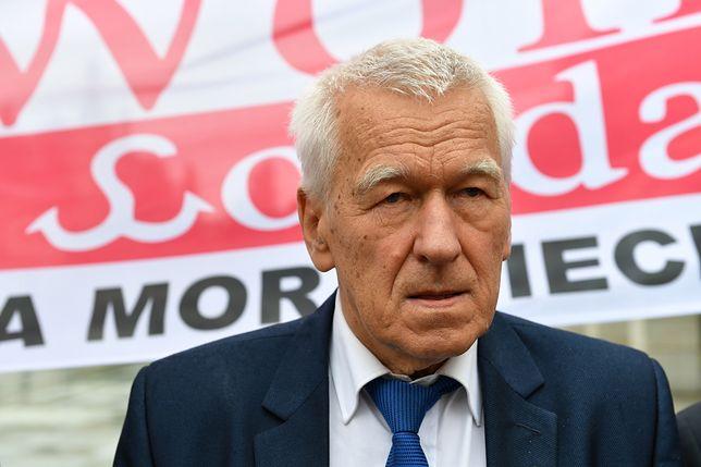 Kornel Morawiecki skomentował między innymi nagrania z synem