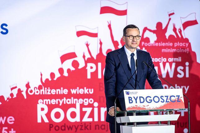 Mateusz Morawiecki w Bydgoszczy