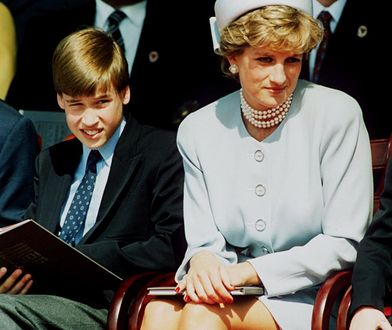 Księżna Diana potrafiła rozmawiać z dziećmi o uczuciach.