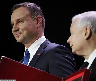 Andrzej Duda i Jarosław Kaczyński mają jednoznaczne zdanie na temat sędziów.