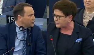 Debata polskich europosłów w PE.