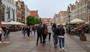 Długi Targ w Gdańsku w czwartek 11 czerwca