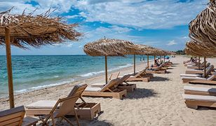 Grecki kurort Nea Irakleia cierpi na turystów z powodu epidemii koronawirusa