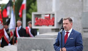 """Szef NSZZ """"Solidarność"""" Piotr Duda stwierdził, że Medal Wdzięczności otrzymała osoba, która na to """"nie zasługuje"""""""