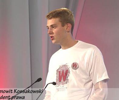 Ziemowit Kossakowski na konwencji samorządowej PiS w Warszawie w 2014 roku.