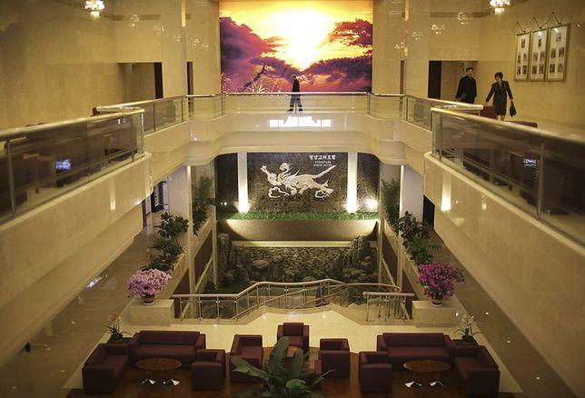 Najbardziej luksusowy hotel w Korei Północnej pokazuje nowe oblicze