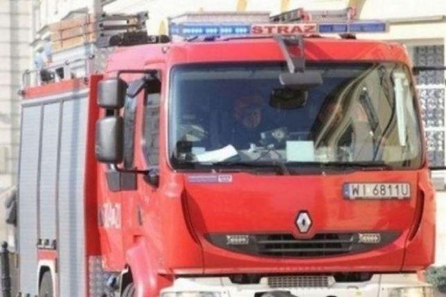 Wyciek gazu w Wilanowie. Ewakuacja mieszkańców