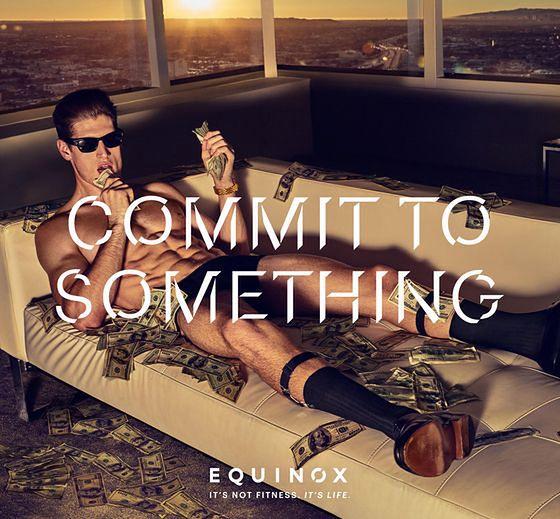 """""""Zaangażuj się w coś""""(""""Commit To Something"""") - ciekawa kampania firmy Equinox"""