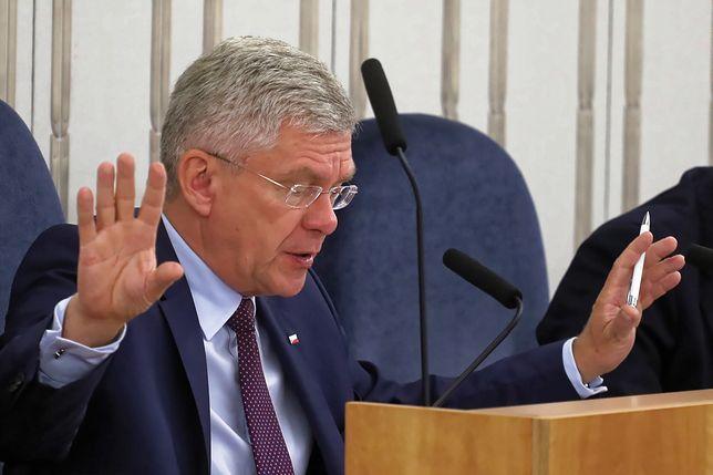 """Stanisław Karczewski podkreślił, że """"wykazał się też dużą cierpliwością w tłumaczeniu politykom tego, co się w Polsce dzieje"""""""
