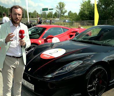 Kawalkada Ferrari jedzie przez Polskę - zobacz ją w akcji
