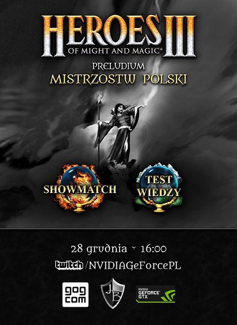 """W 2019 nadchodzą kolejne Mistrzostwa Polski w """"Heroes of Might & Magic III"""". Dziś mecz pokazowy"""