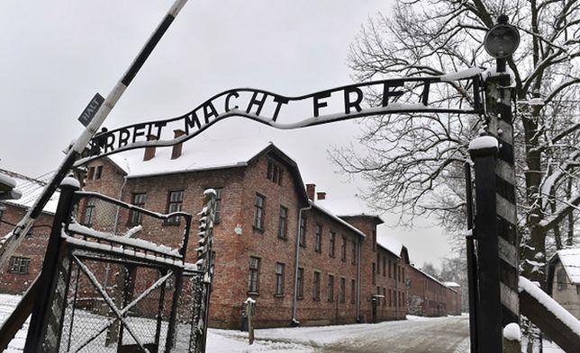 Były obóz Auschwitz II-Birkenau na terenie Państwowego Muzeum Auschwitz-Birkenau w Oświęcimiu