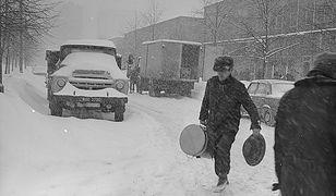 """Zima stulecia w 1979 roku. """"Zaspy wyższe od dorosłego człowieka"""""""