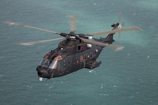 AW101 (na zdjęciu należący do włoskiej marynarki wojennej) to jedna z propozycji