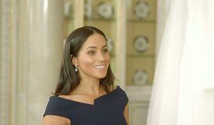 Meghan Markle oglądała suknię ślubną i welon