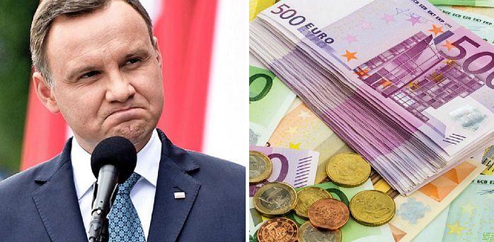 W sieci rozpętała się burza po słowach Andrzeja Dudy. Polacy są podzieleni wobec idei zamiany złotych na euro