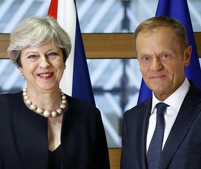 Tusk: propozycje premier May poniżej oczekiwań