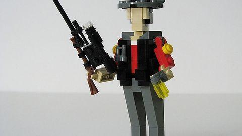 Łączenie pasji - Lego Team Fortress 2