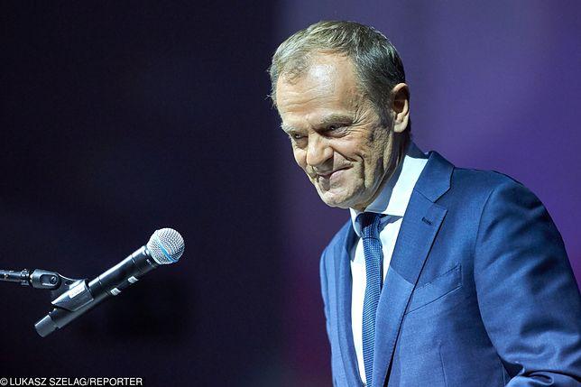 Donald Tusk w Warszawie. Polityk zaprasza na spotkanie